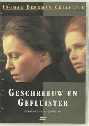 Ingmar Bergman Geschreeuw en Gefluister DVD