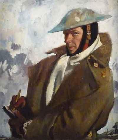 William Orpen Zelfportret uit 1917